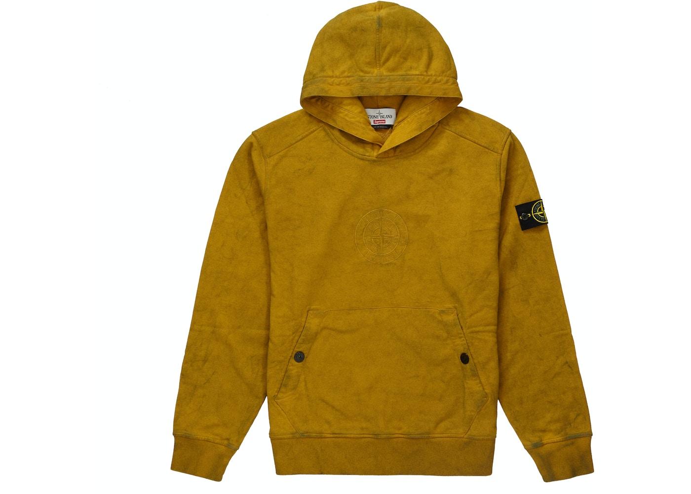7581ed858 Supreme Stone Island Hooded Sweatshirt (SS19) Olive