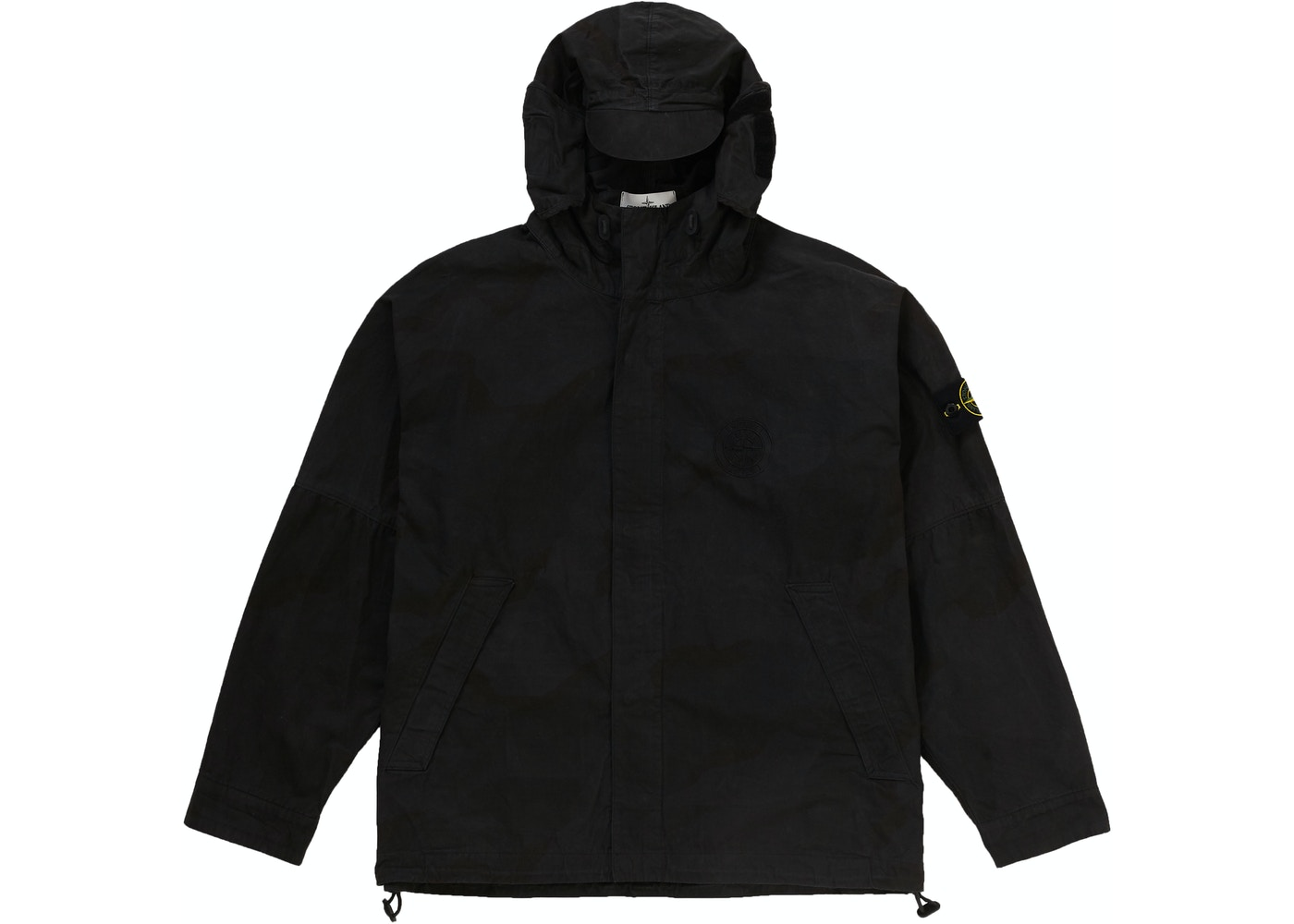 7e349f31c7996 Supreme Stone Island Riot Mask Camo Jacket Black Camo - SS19