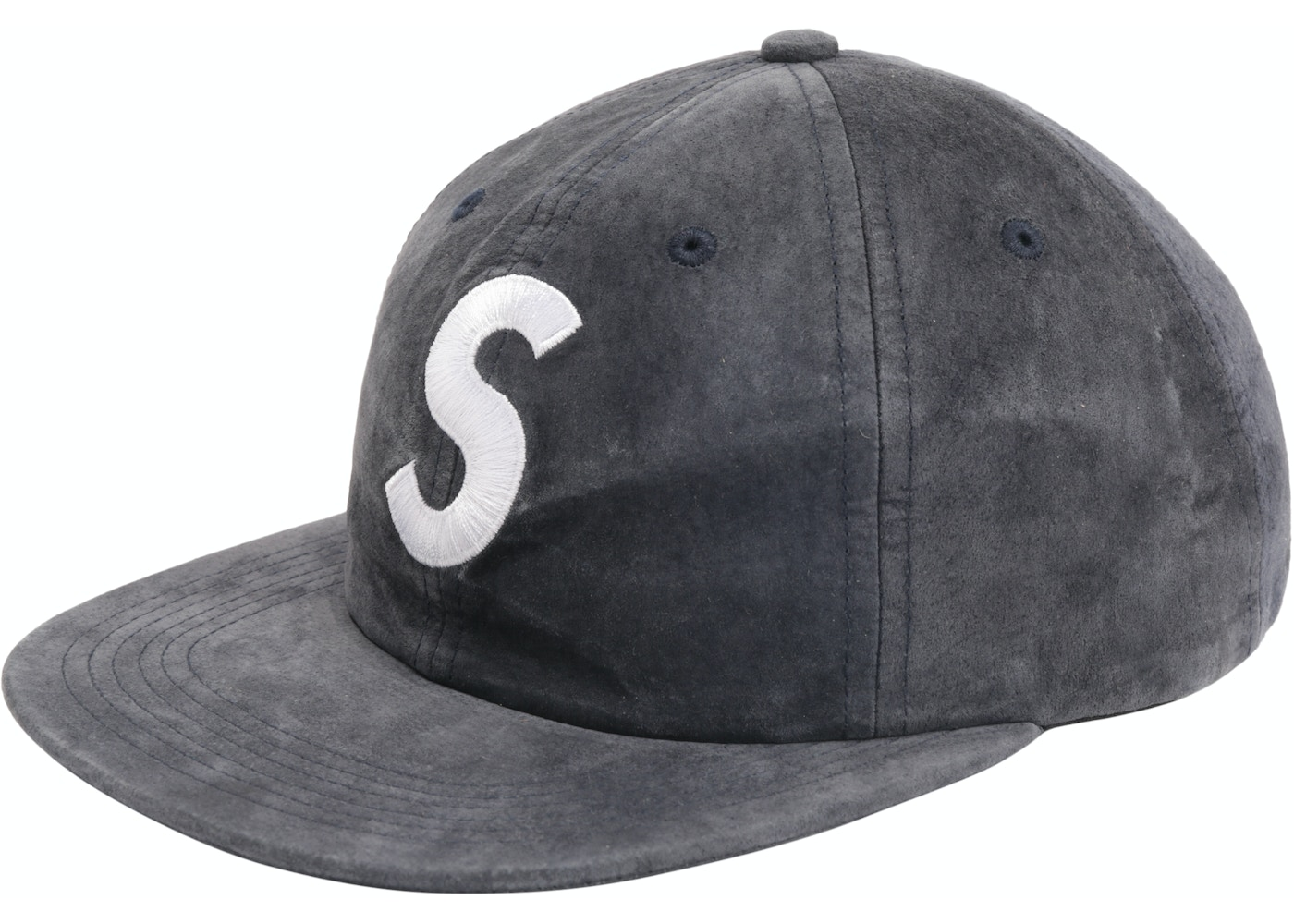 d98118de13958 Sell. or Ask. View All Bids. Supreme Suede S Logo 6 Panel Navy