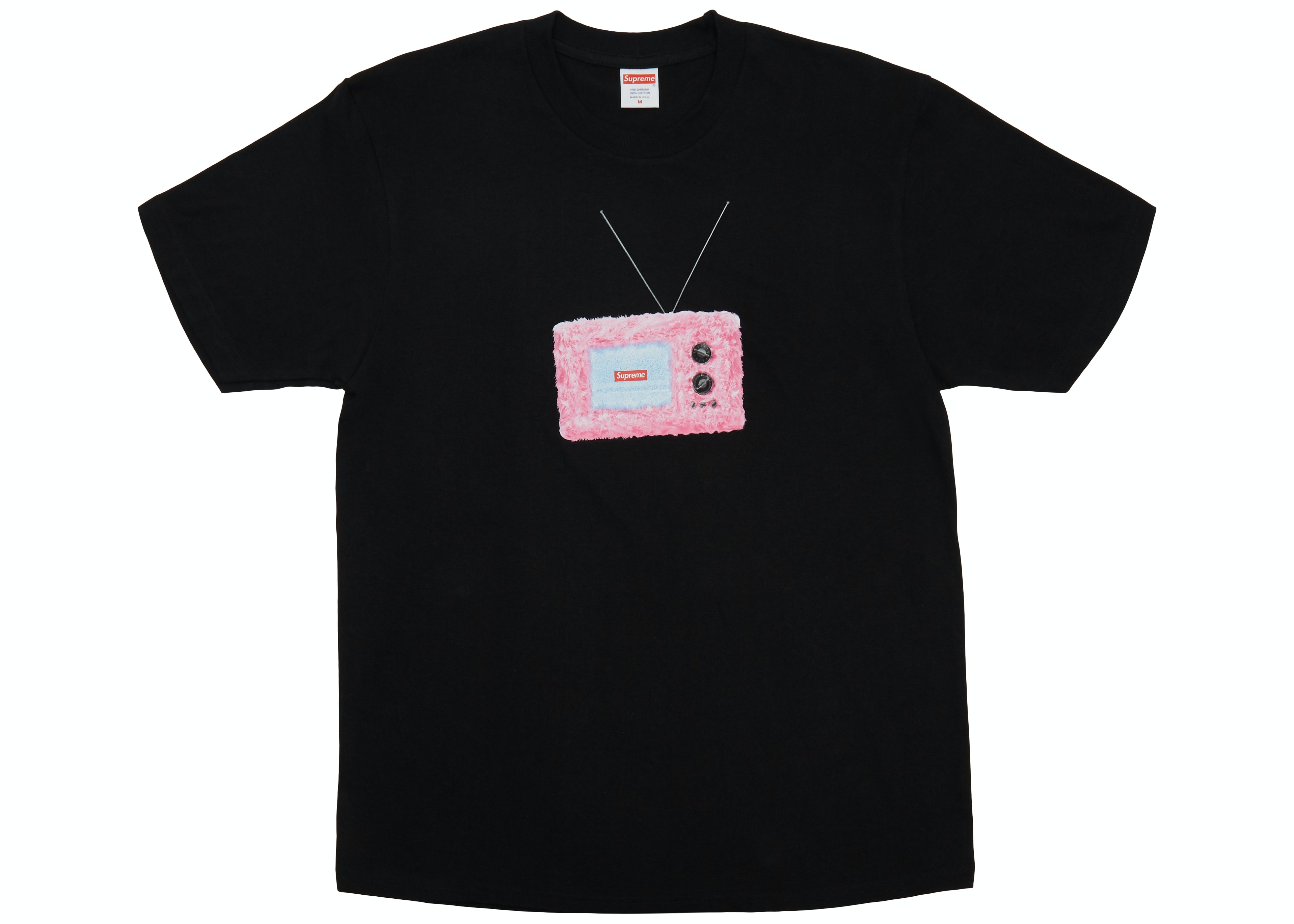 Supreme TV Tee Black