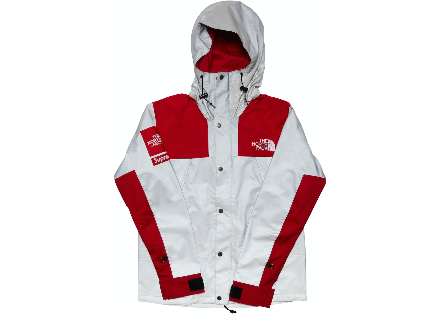 9910a042 Supreme The North Face 3M Reflective Mountain Jacket Red - SS13