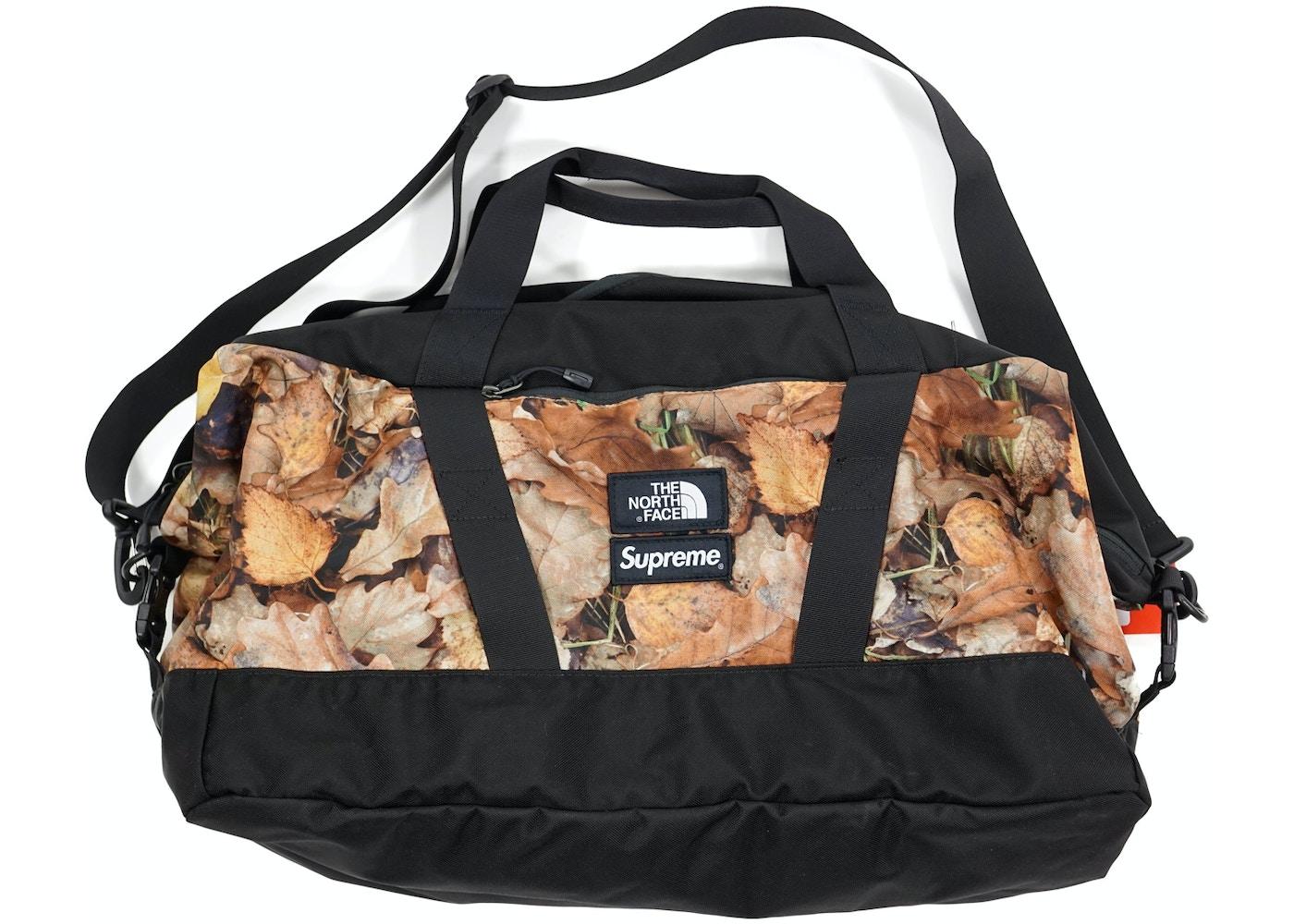 acc3e1bc5 Supreme The North Face Apex Duffle Bag Leaves - FW16