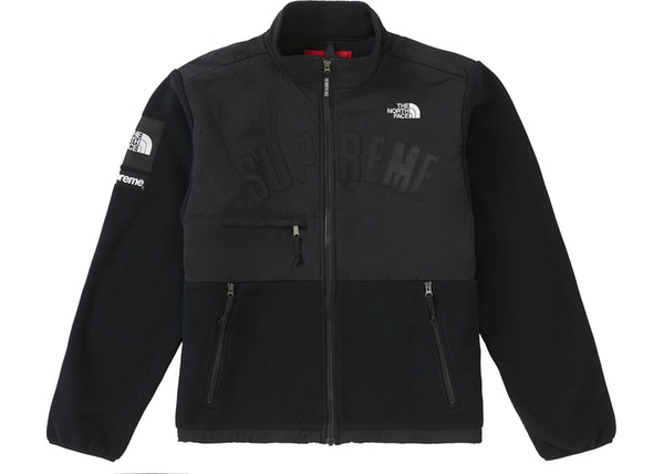 Supreme The North Face Arc Logo Denali Fleece Jacket Black dae78872e