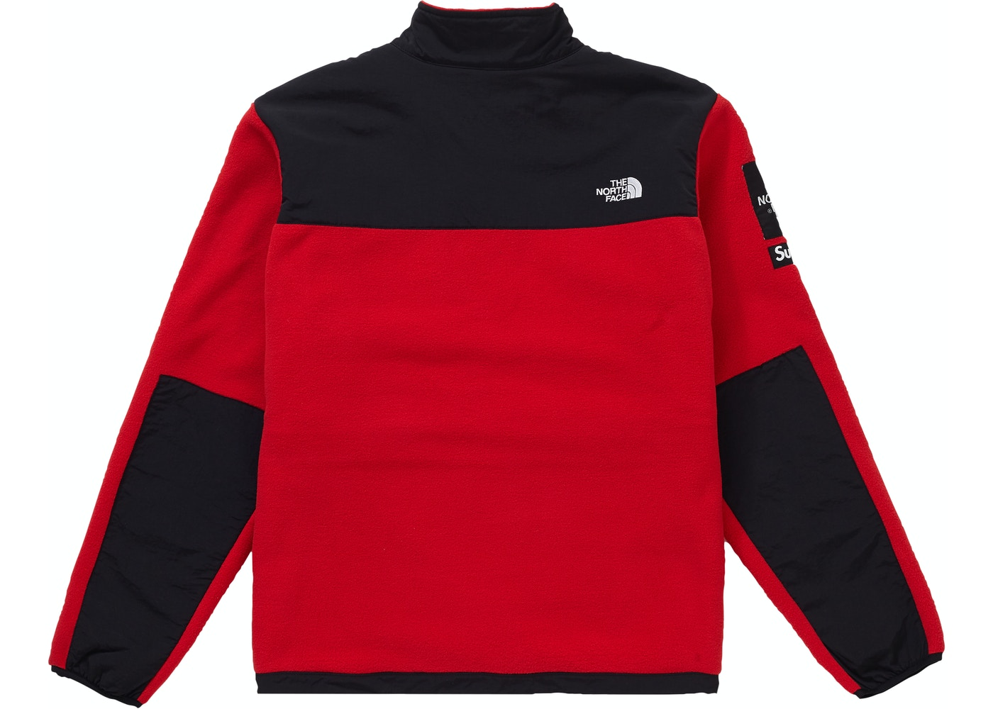 2246dff24 Supreme The North Face Arc Logo Denali Fleece Jacket Red