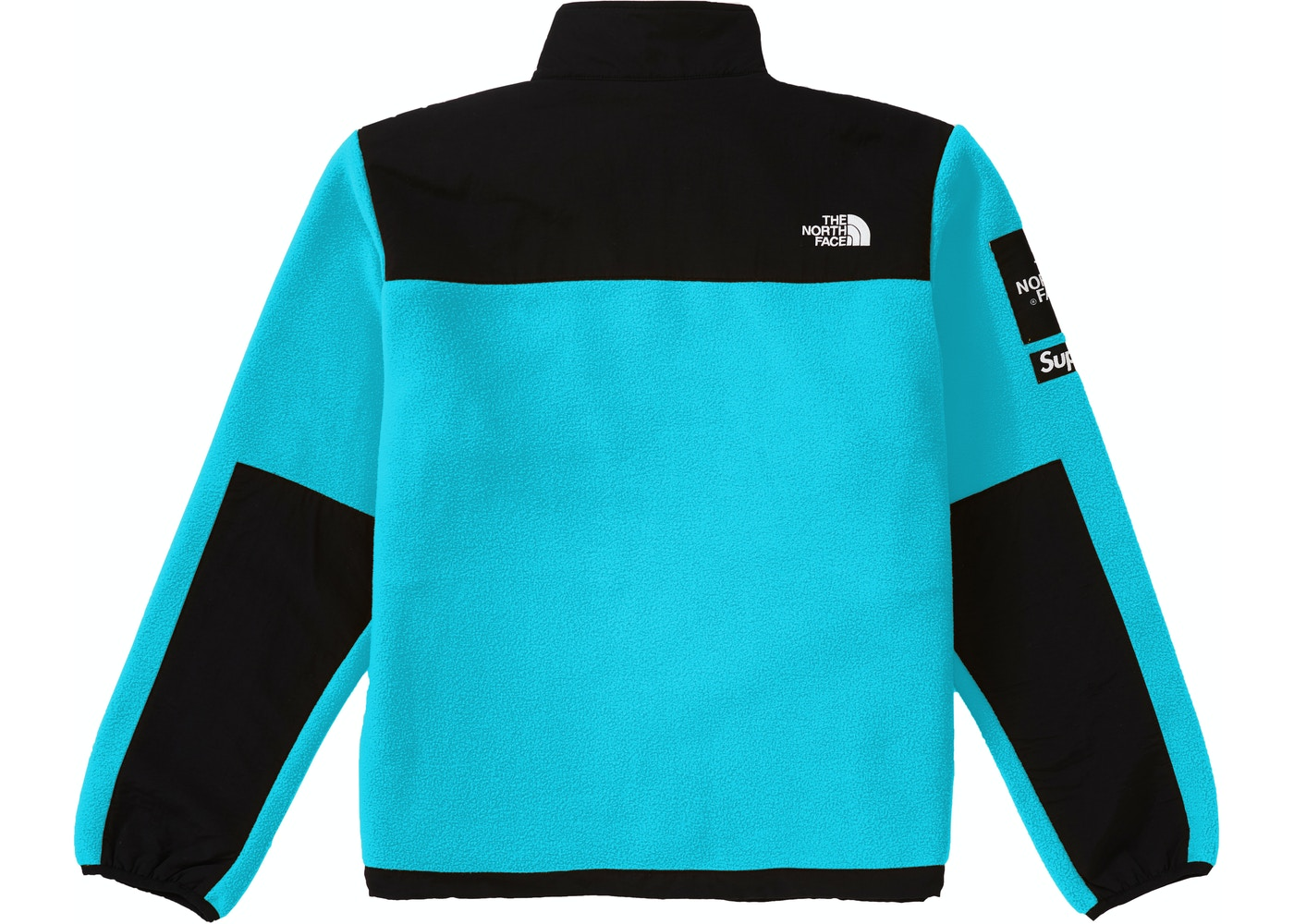 2c27f174 Supreme The North Face Arc Logo Denali Fleece Jacket Teal - SS19
