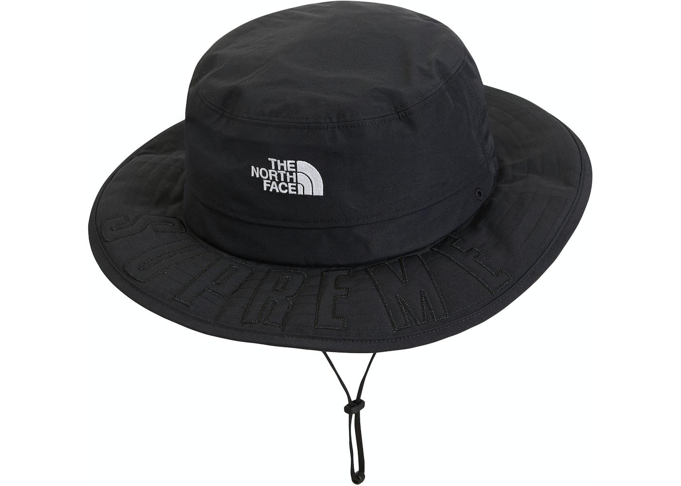 351f0782 Supreme The North Face Arc Logo Horizon Breeze Hat Black - SS19