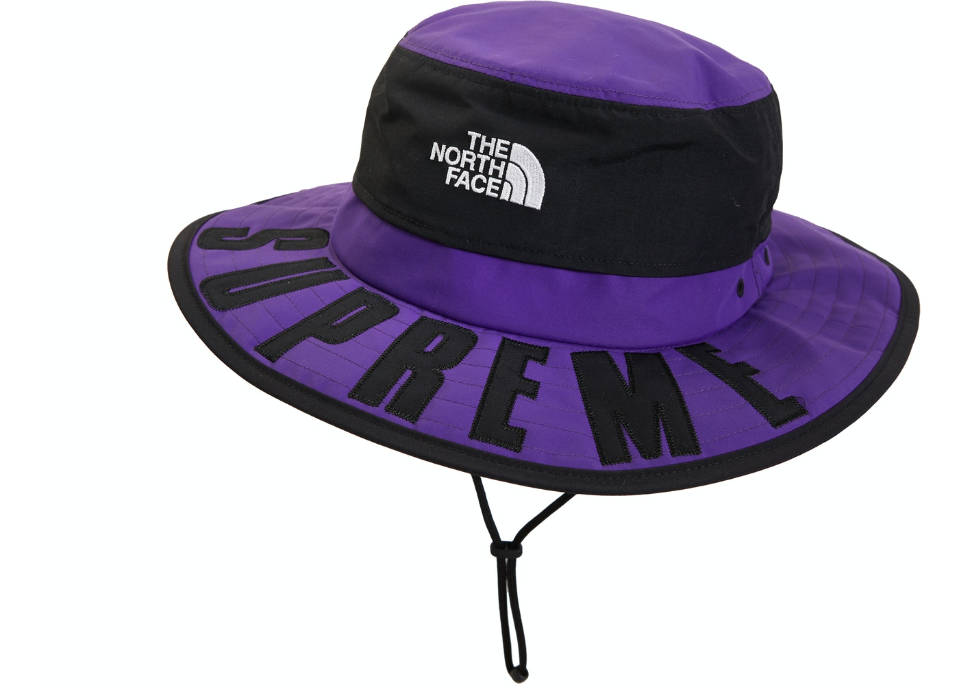 12ace95f Supreme The North Face Arc Logo Horizon Breeze Hat Purple - SS19