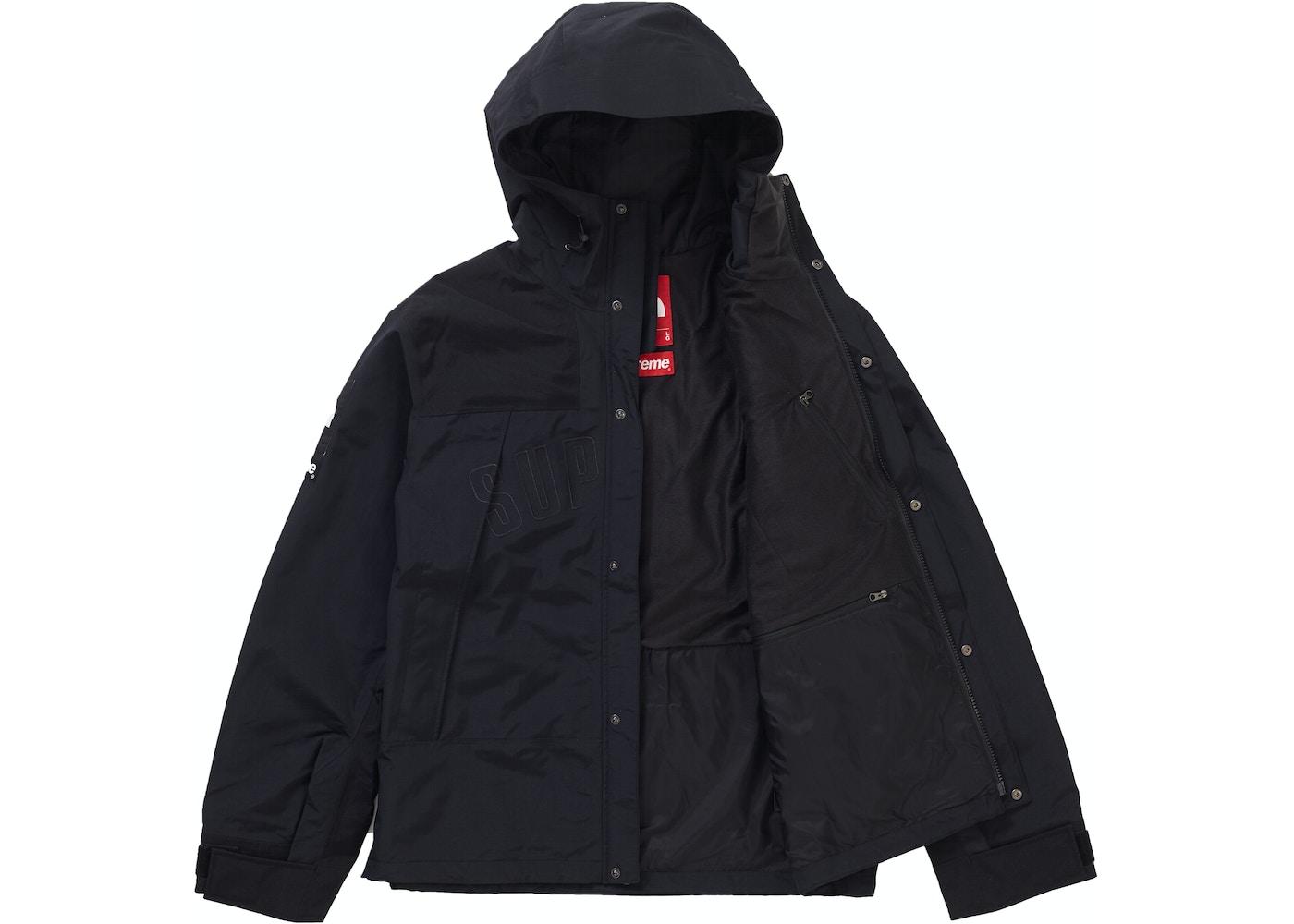 d7c9d8d4d Supreme The North Face Arc Logo Mountain Parka Black