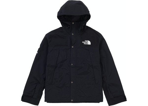 6d587d66392f Supreme The North Face Arc Logo Mountain Parka Black