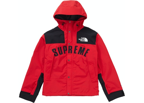 the best attitude 01f83 cb464 Supreme The North Face Arc Logo Mountain Parka Red