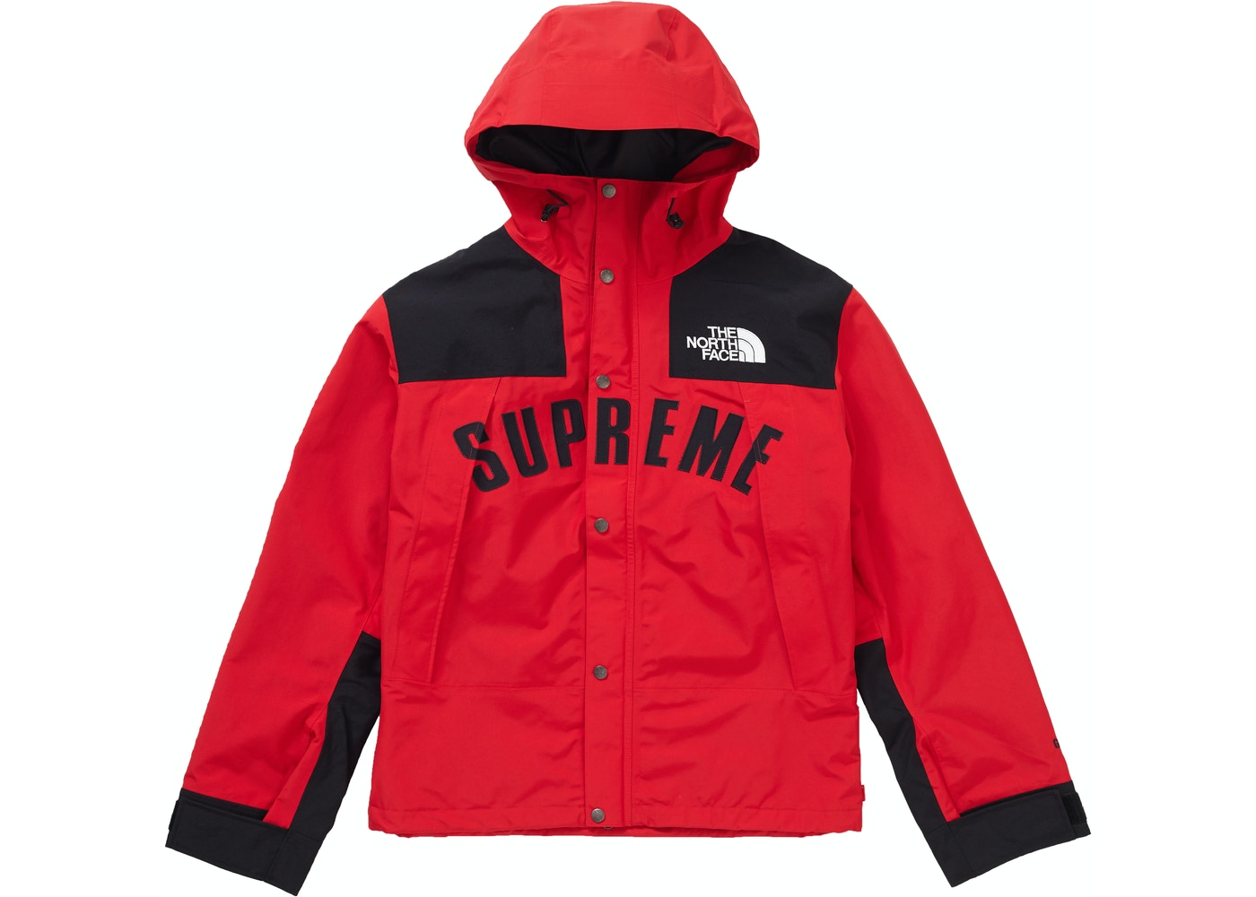 d1a967ff Supreme The North Face Arc Logo Mountain Parka Red - SS19