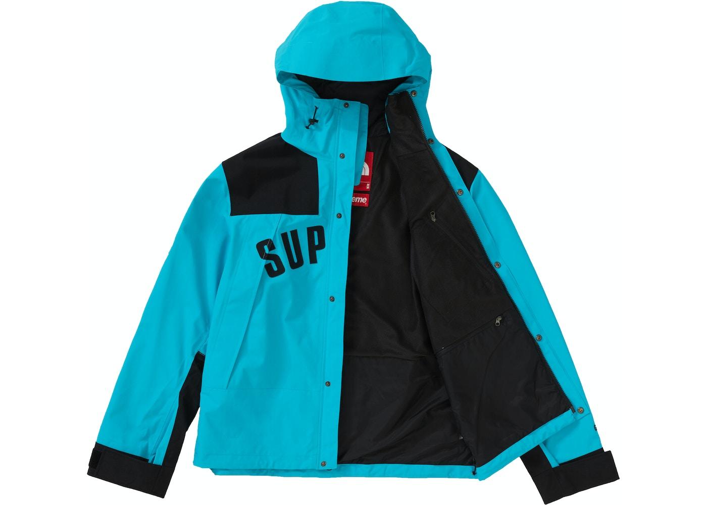bd2e6e7f1 Supreme The North Face Arc Logo Mountain Parka Teal