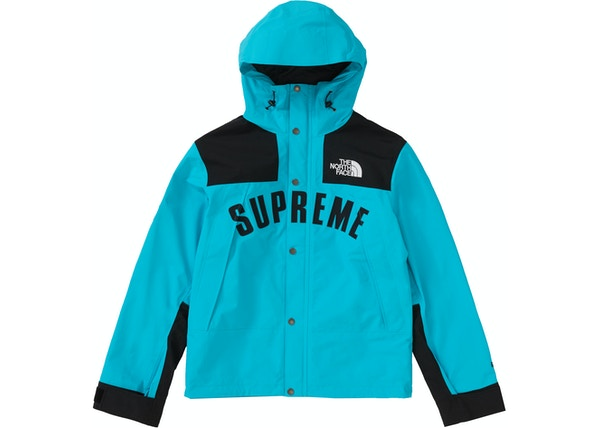 Supreme The North Face Arc Logo Mountain Parka Teal 76c170a3e
