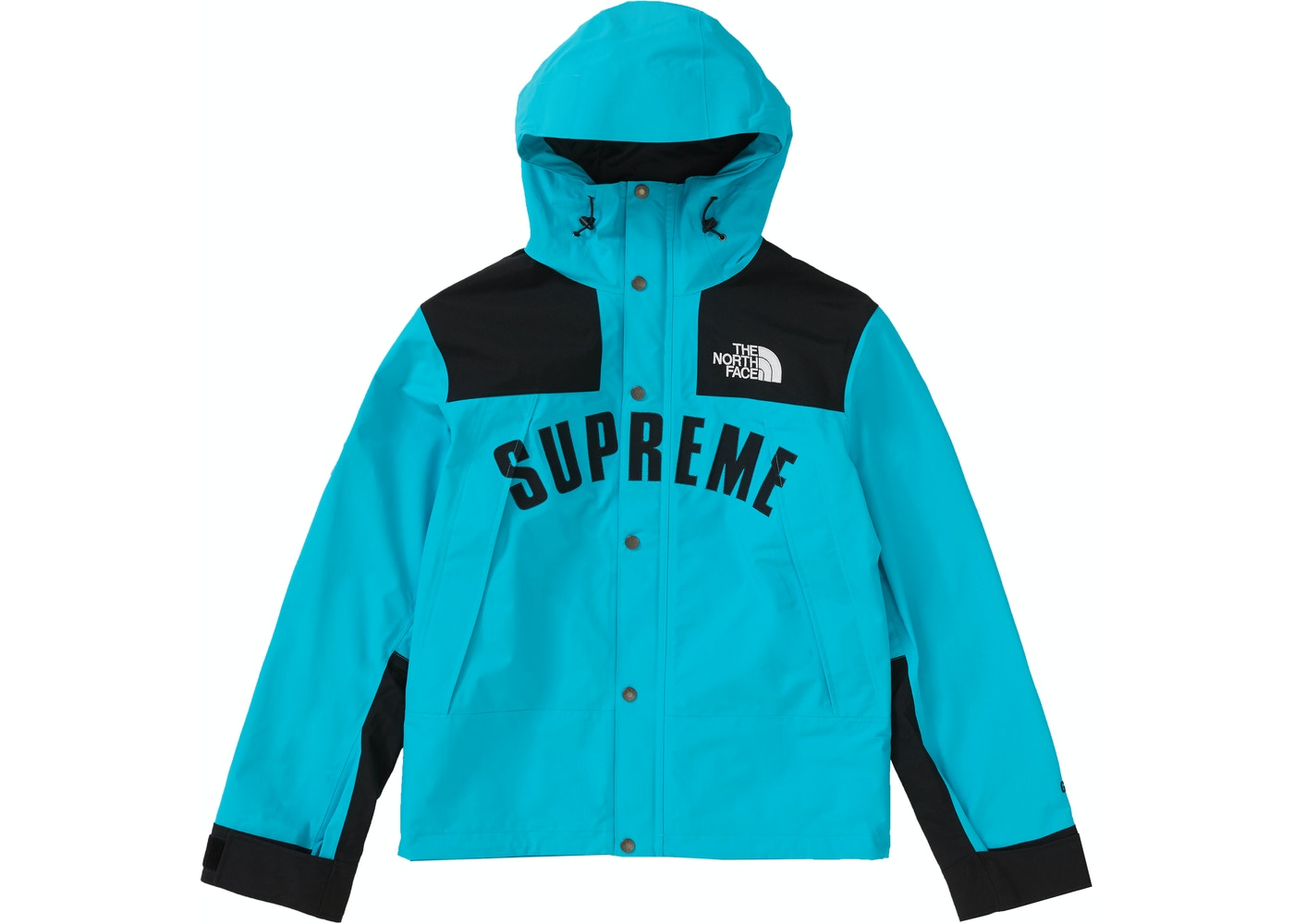 7903b0581 Supreme The North Face Arc Logo Mountain Parka Teal