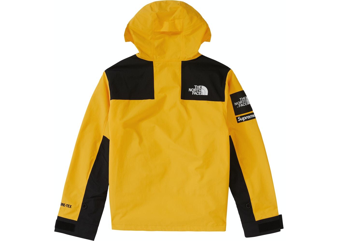 ea1f5e165 Supreme The North Face Arc Logo Mountain Parka Yellow