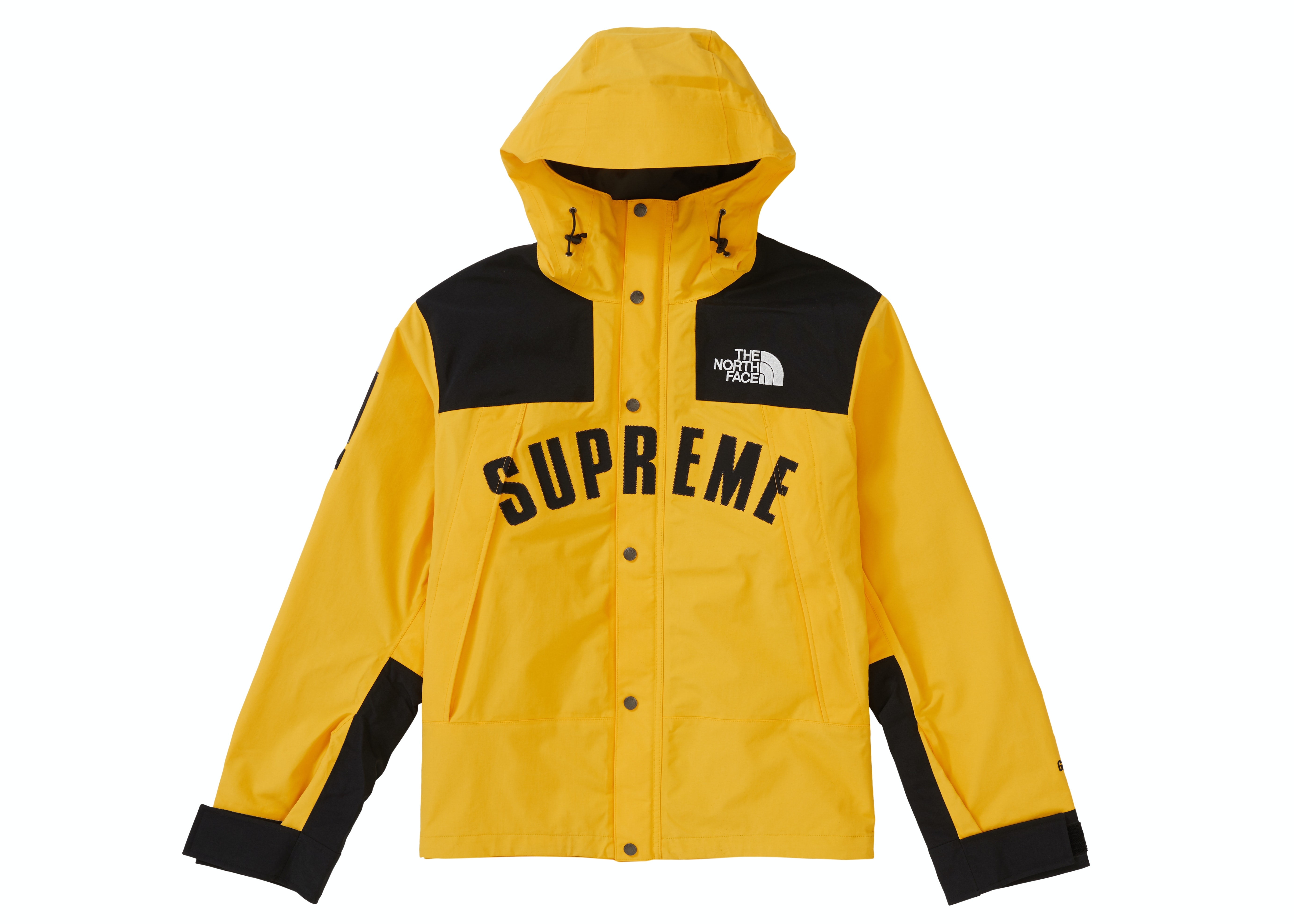 Supreme The North Face Arc Logo Mountain Parka Yellow