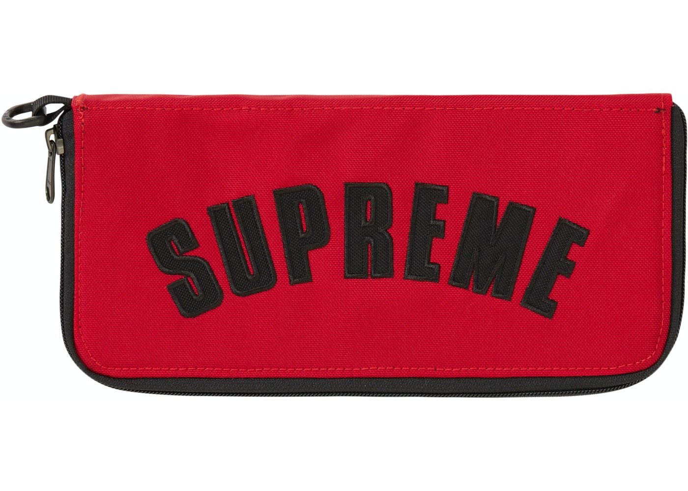 Heiß-Verkauf am neuesten kostengünstig Top-Mode Supreme The North Face Arc Logo Organizer Red