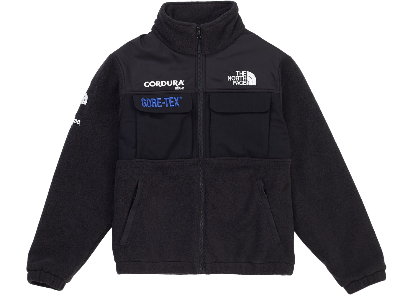 5c587657b Supreme The North Face Expedition Fleece (FW18) Jacket Black