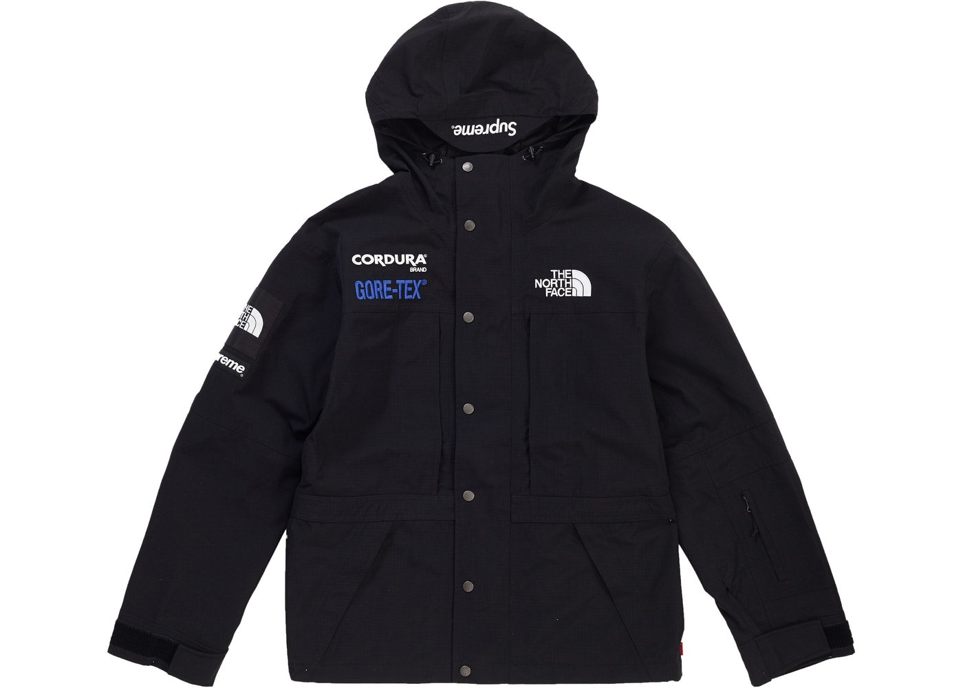 6935b84cb632 Supreme The North Face Expedition (FW18) Jacket Black - FW18