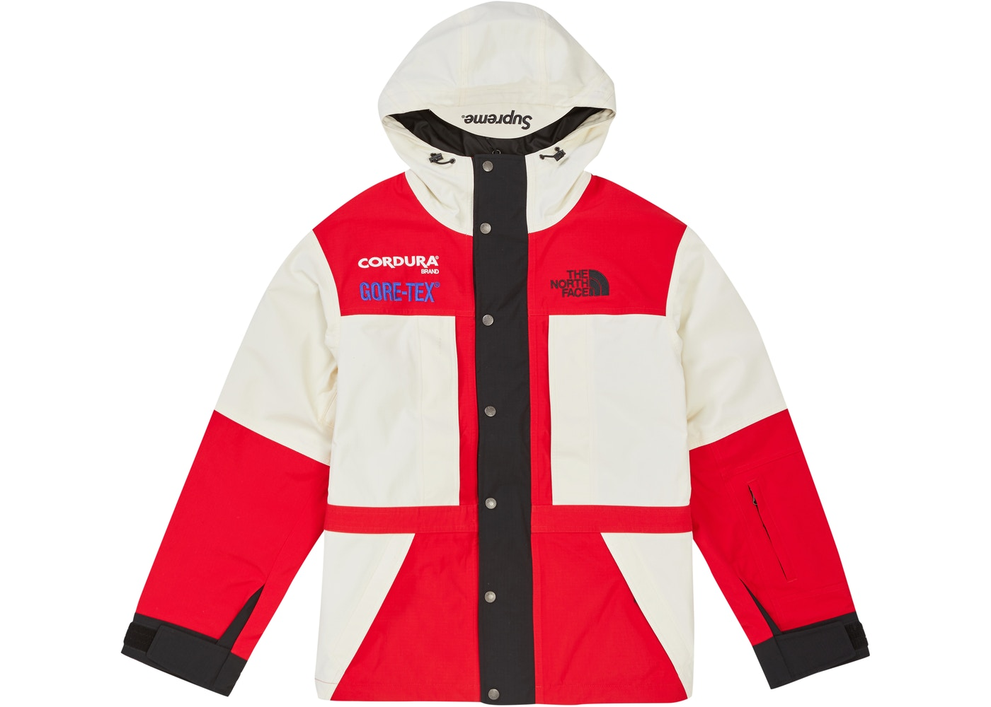 Supreme The North Face Expedition Fw18 Jacket White