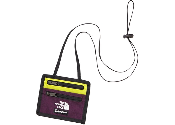 067d6e20c Supreme The North Face Expedition Travel Wallet Sulphur