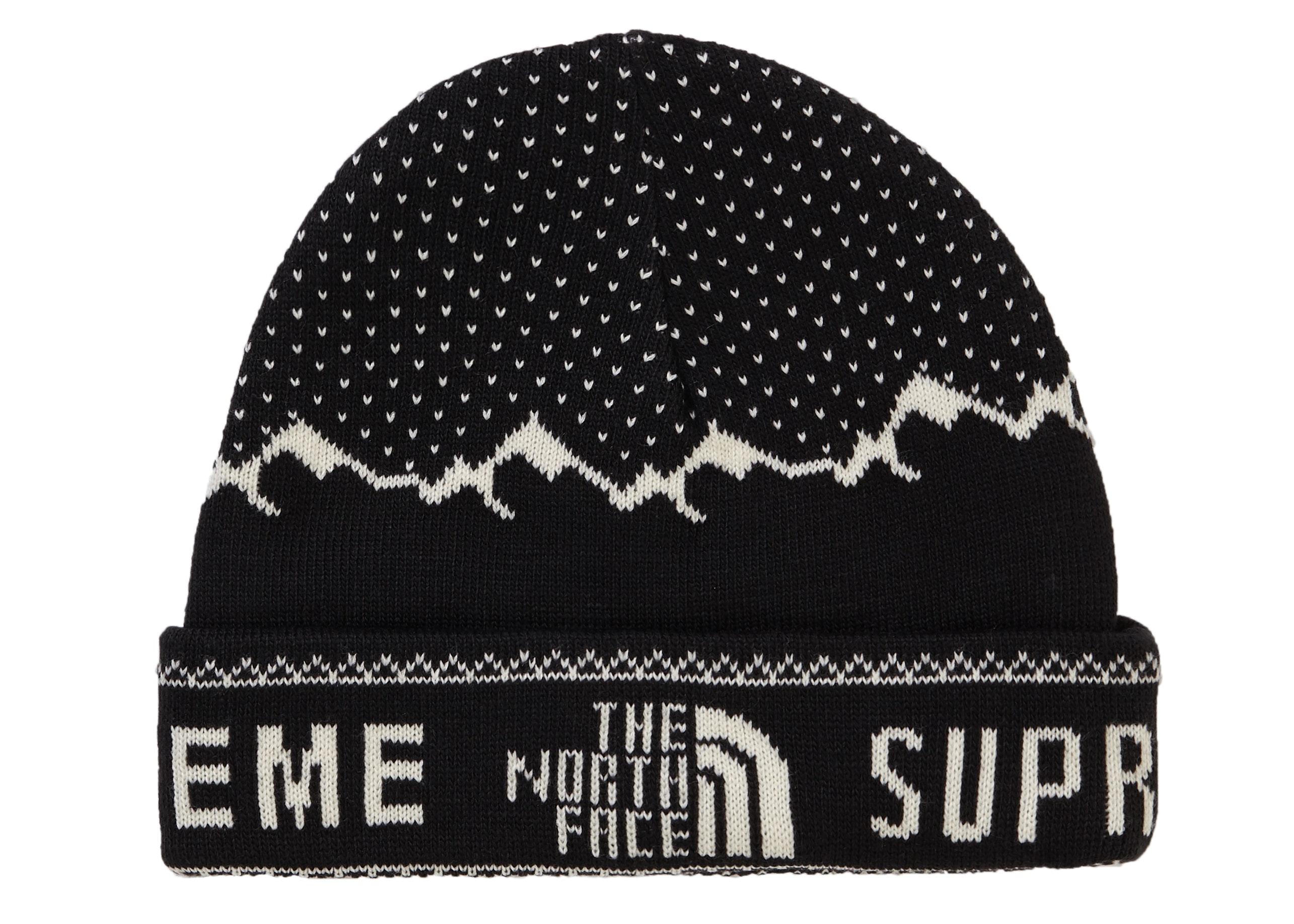 Supreme The North Face Fold Beanie Black
