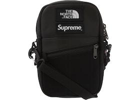 e17045b31 Supreme The North Face Leather Shoulder Bag Black
