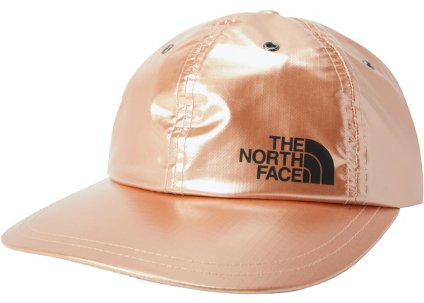 c9319f37a4f Supreme The North Face Metallic 6-Panel Rose Gold - SS18