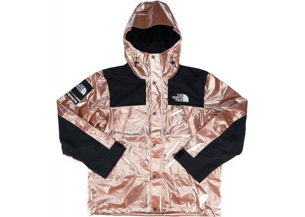 ecb5c4f16 Supreme The North Face Metallic Mountain Parka Rose Gold - SS18