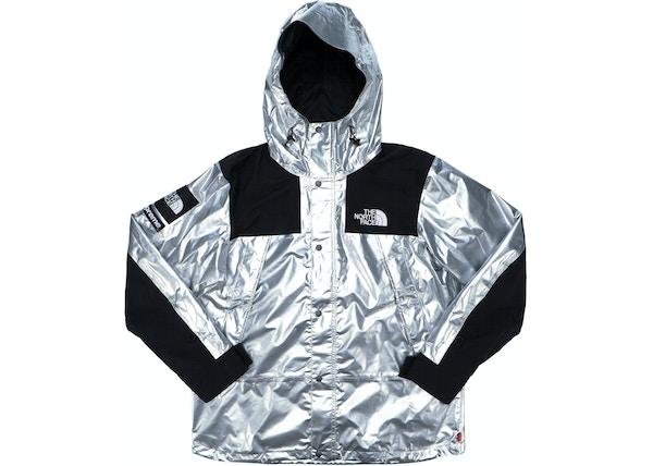 8de71ee8 ReStockX Supreme the North Face Metallic Mountain Parka Silver -