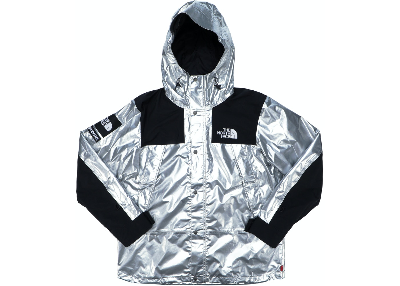 408bdb89c Supreme The North Face Metallic Mountain Parka Silver
