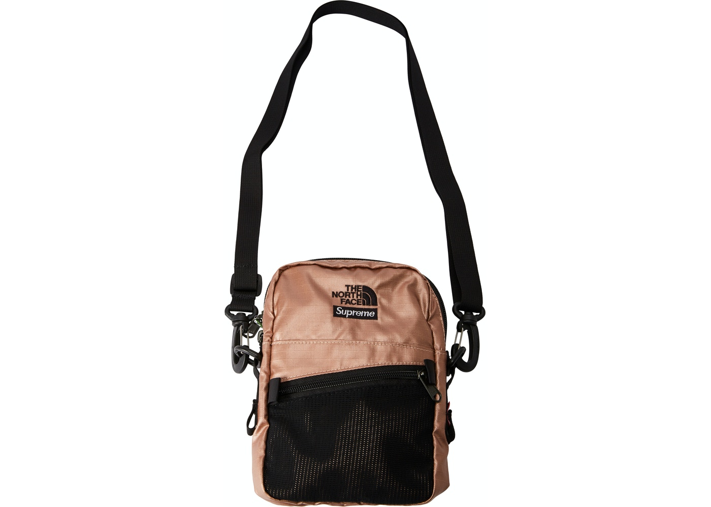 18210f14 Sell. or Ask. View All Bids. Supreme The North Face Metallic Shoulder Bag  Rose Gold