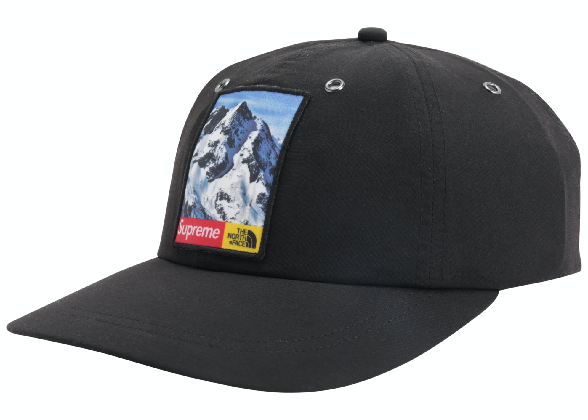Supreme The North Face Mountain 6-Panel Hat Black