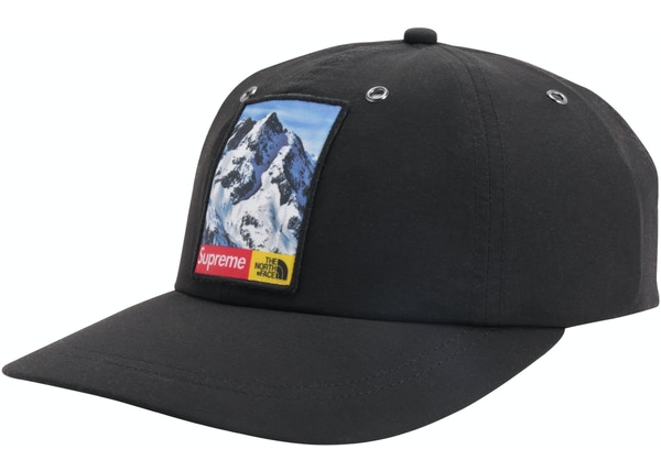 b8e74a56 Supreme The North Face Mountain 6-Panel Hat Black