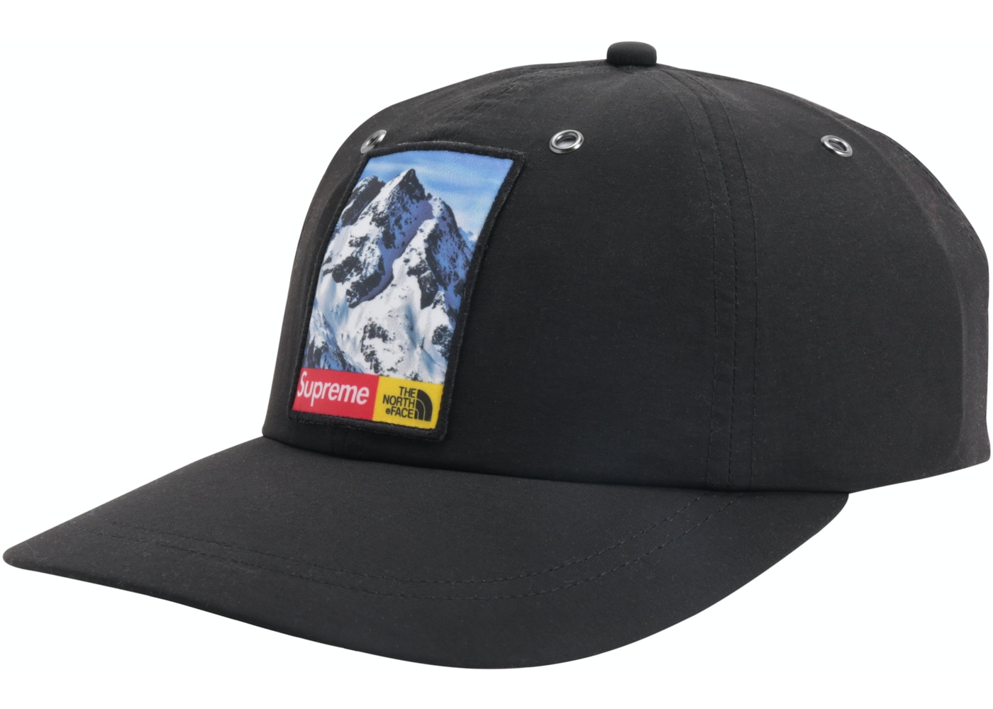 145913a255f20 Supreme The North Face Mountain 6-Panel Hat Black - TNF-MTN-FW17