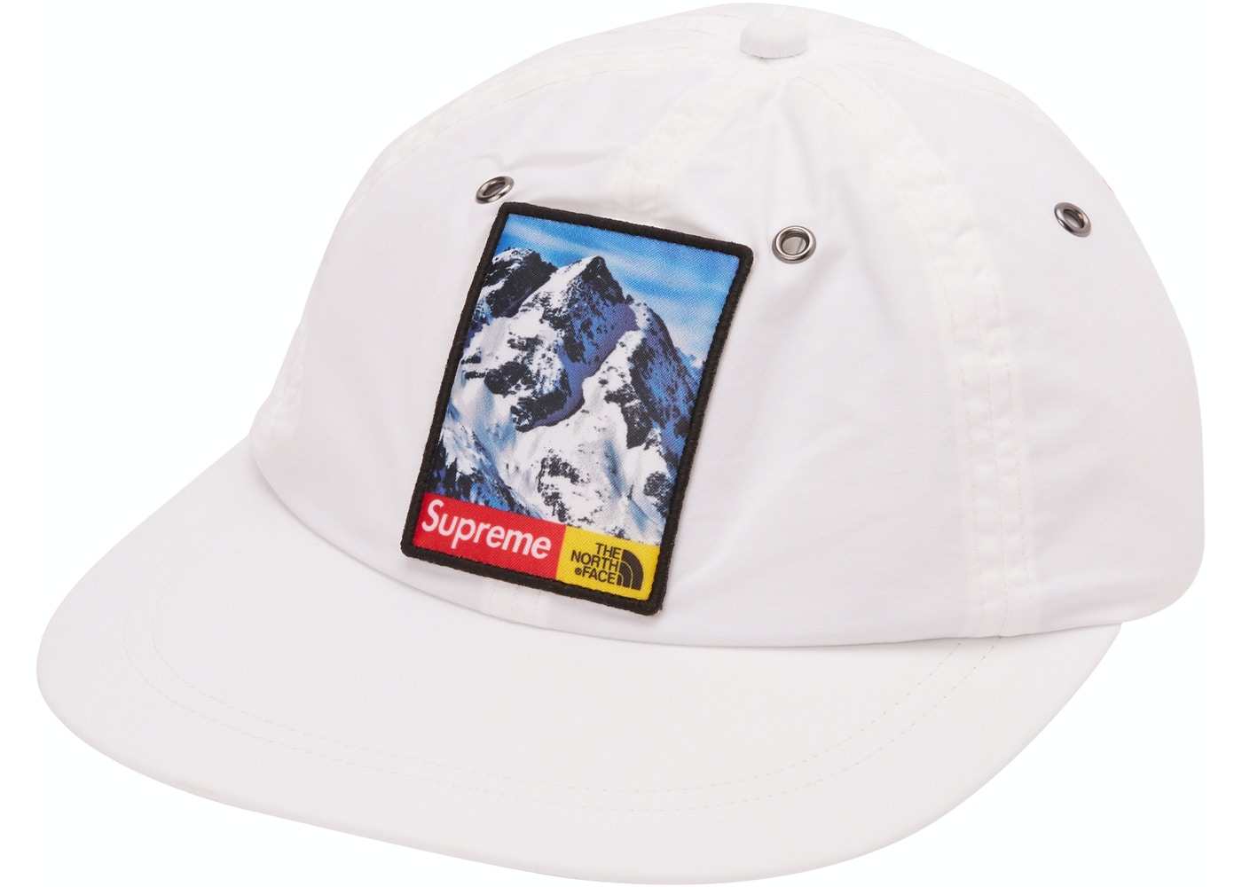 Supreme The North Face Mountain 6-Panel Hat White - TNF-MTN-FW17 db5ad6d8dc5