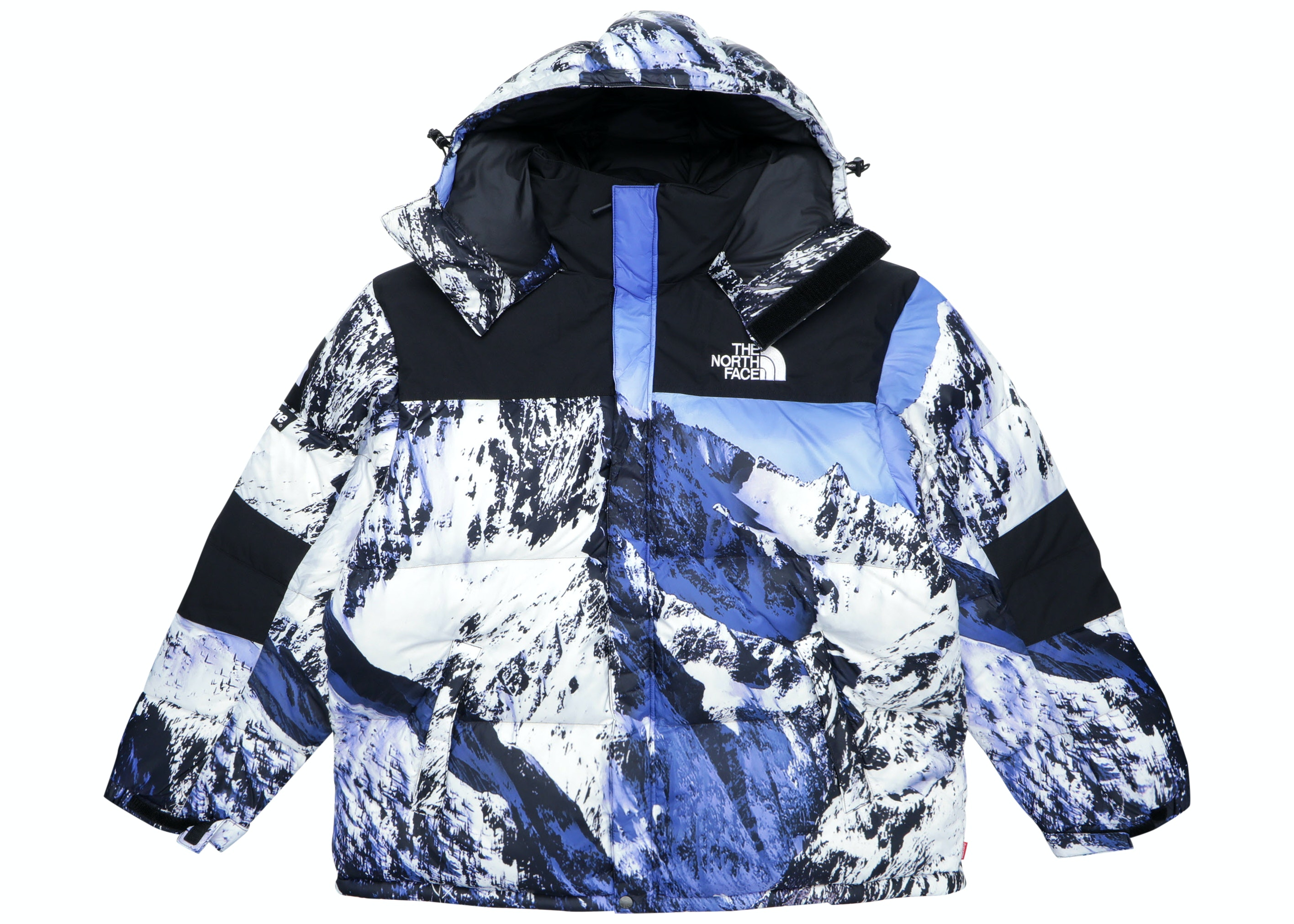 Supreme The North Face Mountain Baltoro Jacket Blue/White