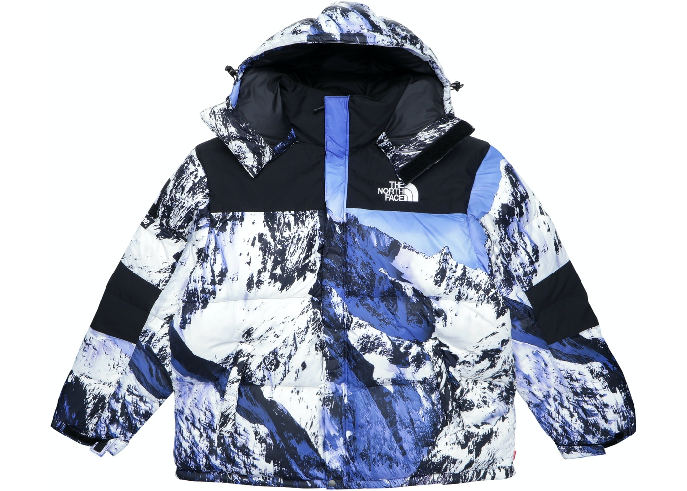 Supreme The North Face Mountain Baltoro Jacket Blue White - TNF-MTN-FW17 8f038a01e