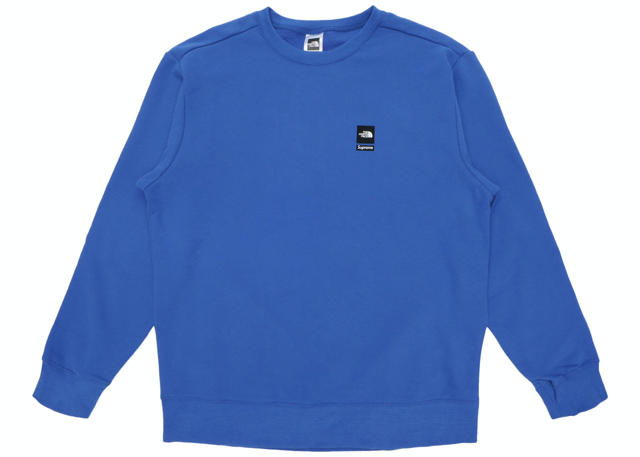 Supreme The North Face Mountain Crewneck Sweatshirt Royal