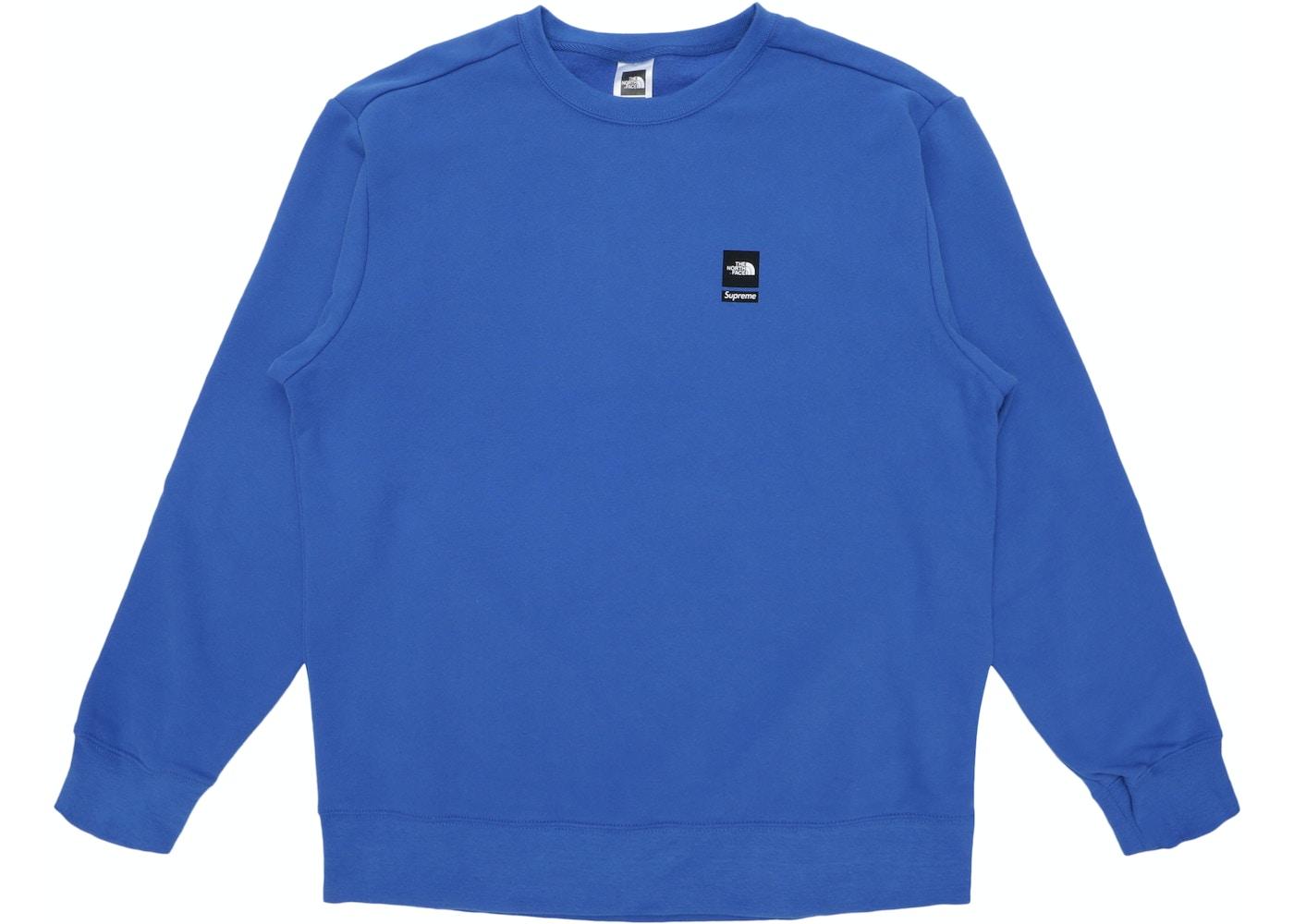 0bb8c4902 Supreme The North Face Mountain Crewneck Sweatshirt Royal