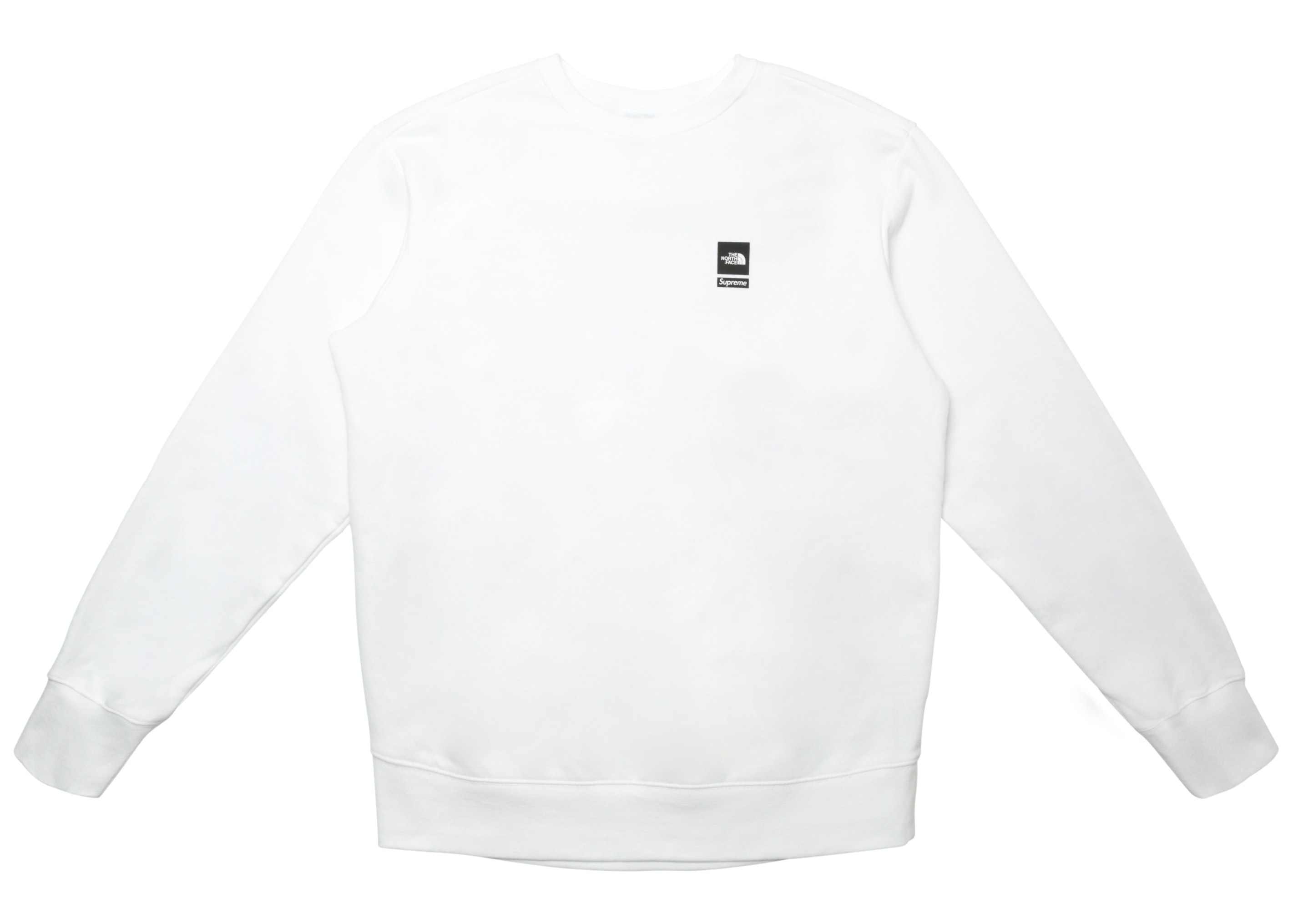 Supreme The North Face Mountain Crewneck Sweatshirt White