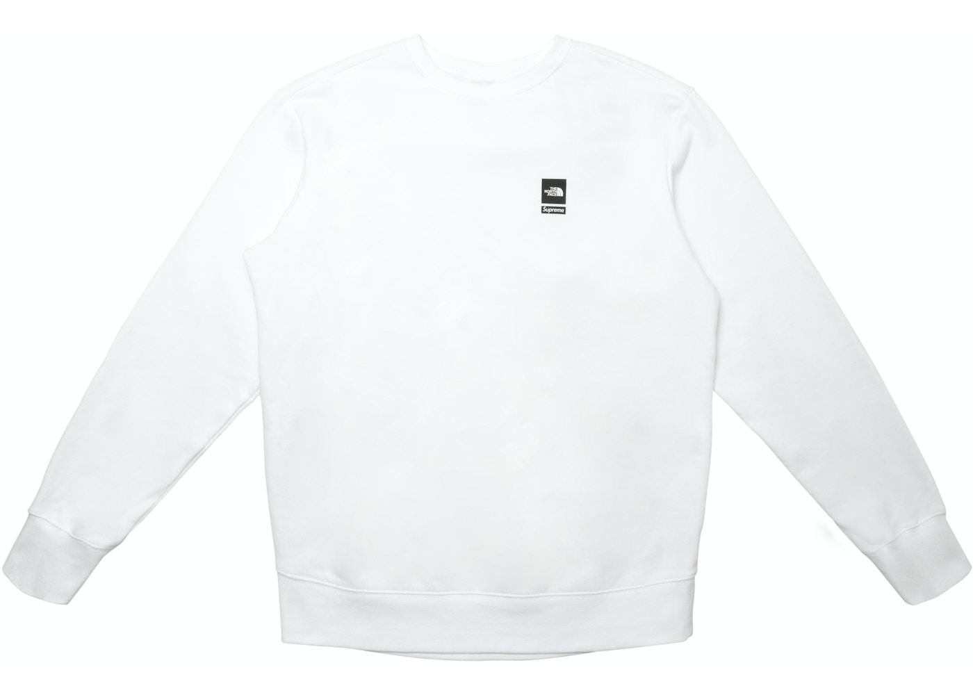 c14d0209c Supreme The North Face Mountain Crewneck Sweatshirt White