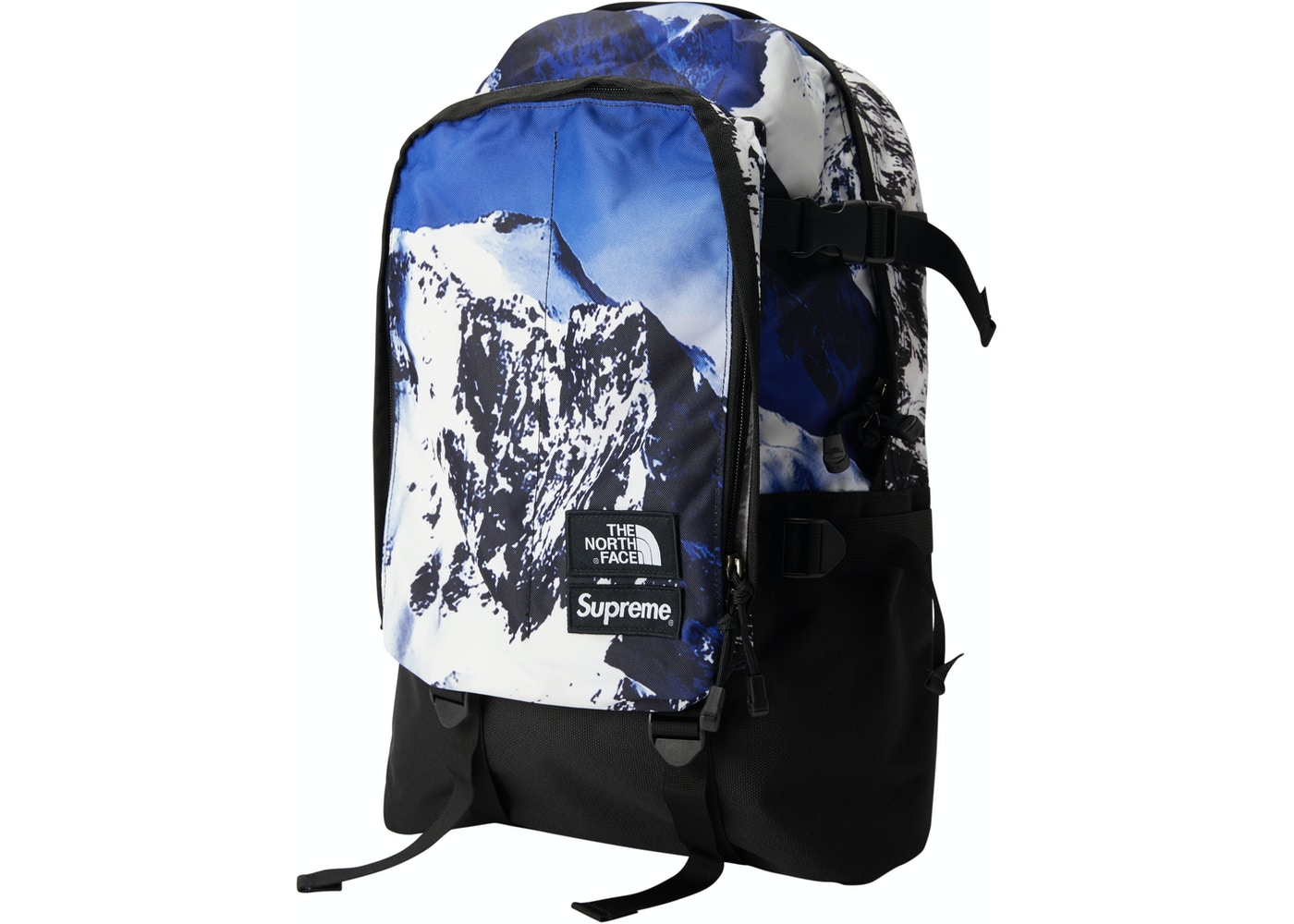 868dc409f Supreme The North Face Mountain Expedition Backpack Blue/White