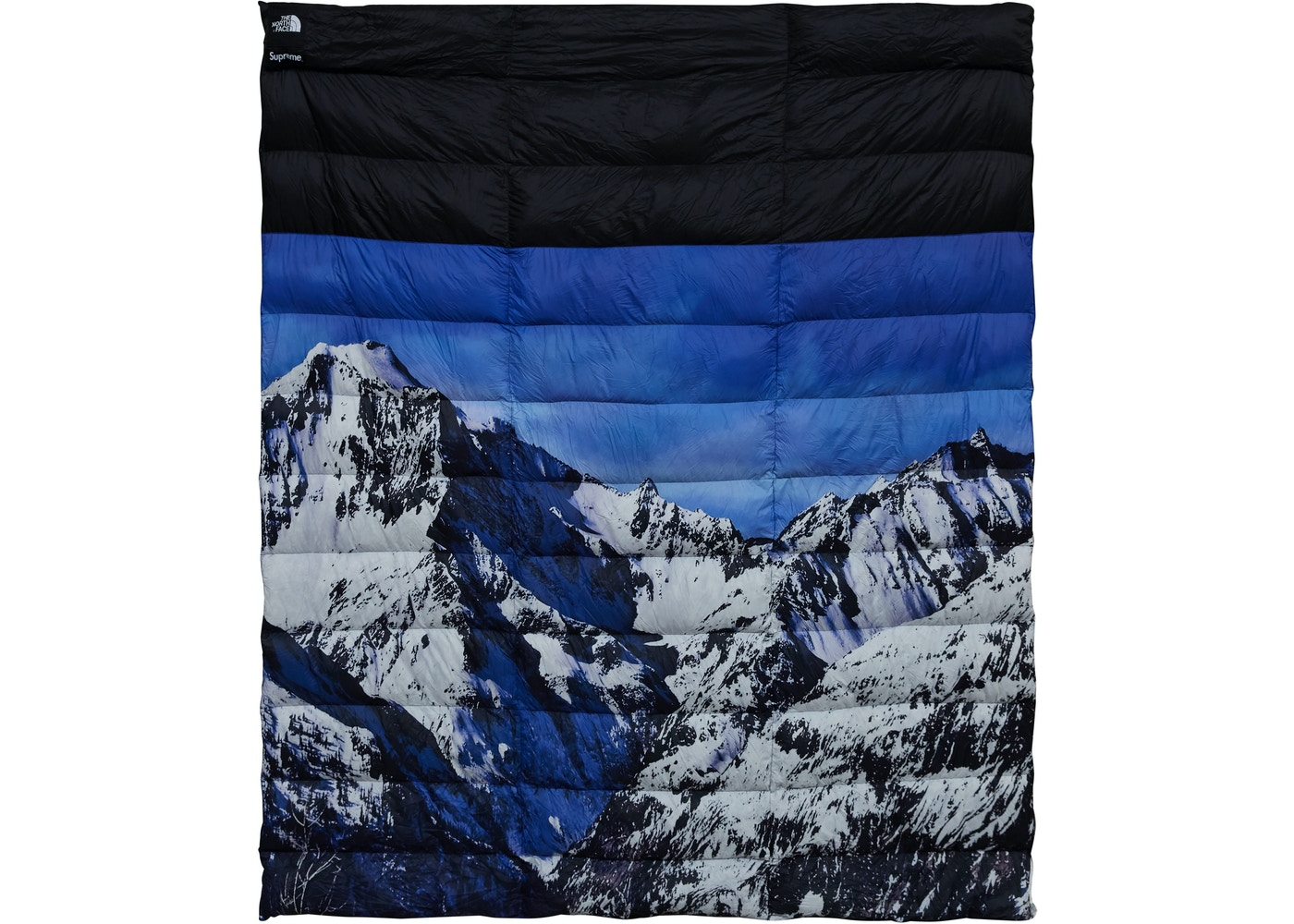 0754fd804 Supreme The North Face Mountain Nupste Blanket Blue/White