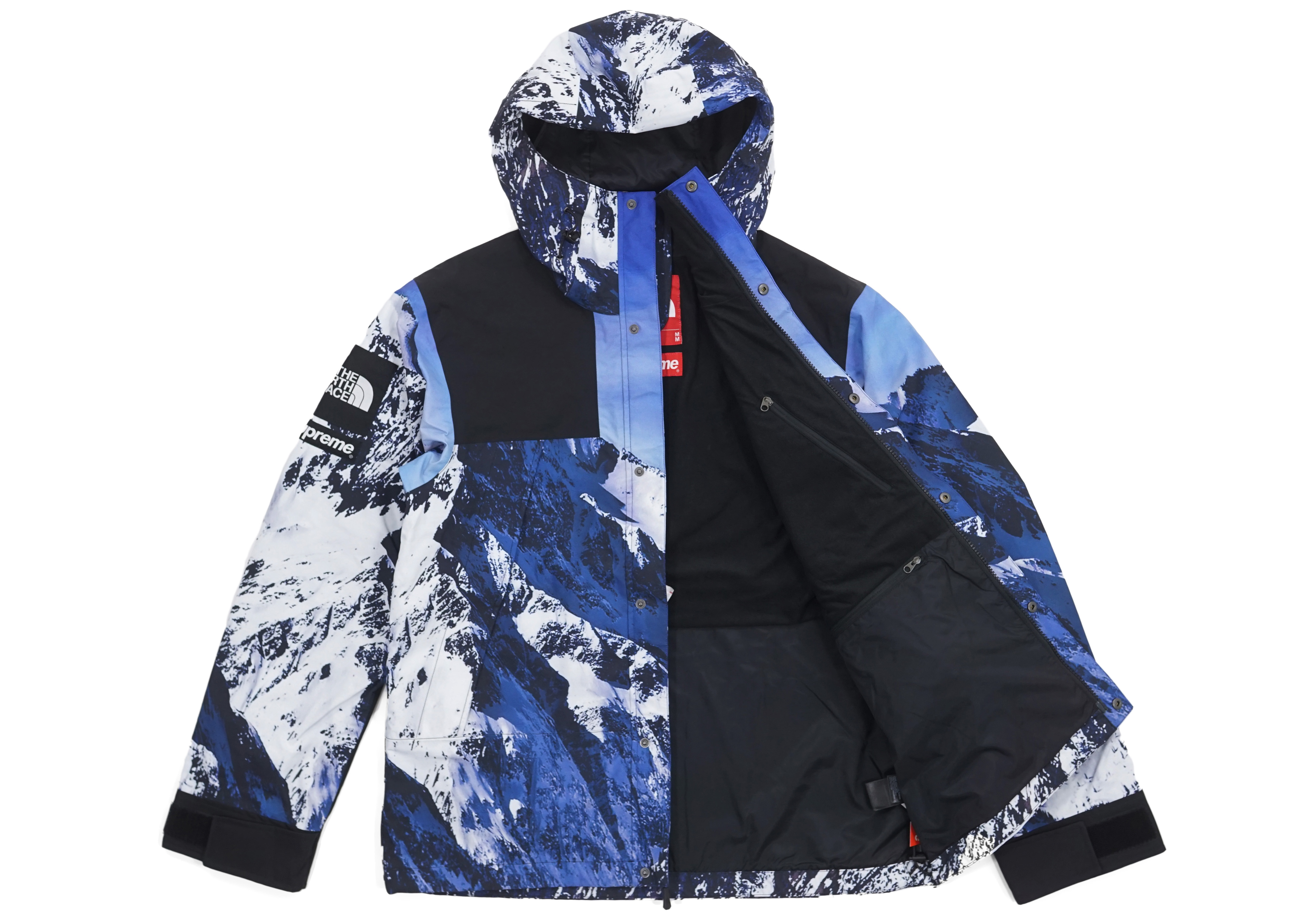 abrigo north face x supreme fw17