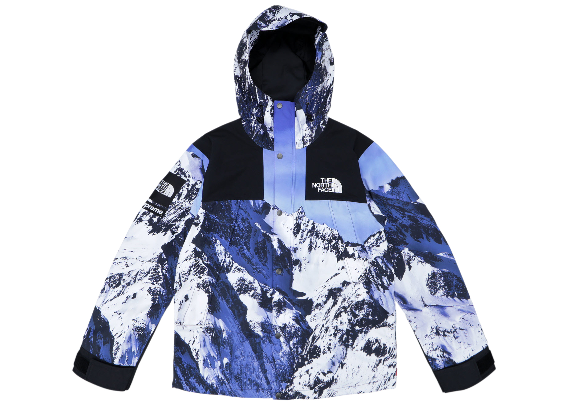 north face x supreme giacca