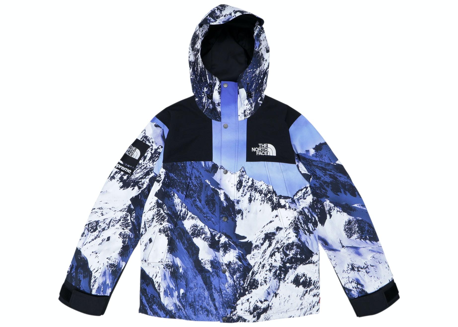 Supreme The North Face Mountain Parka Blue/White