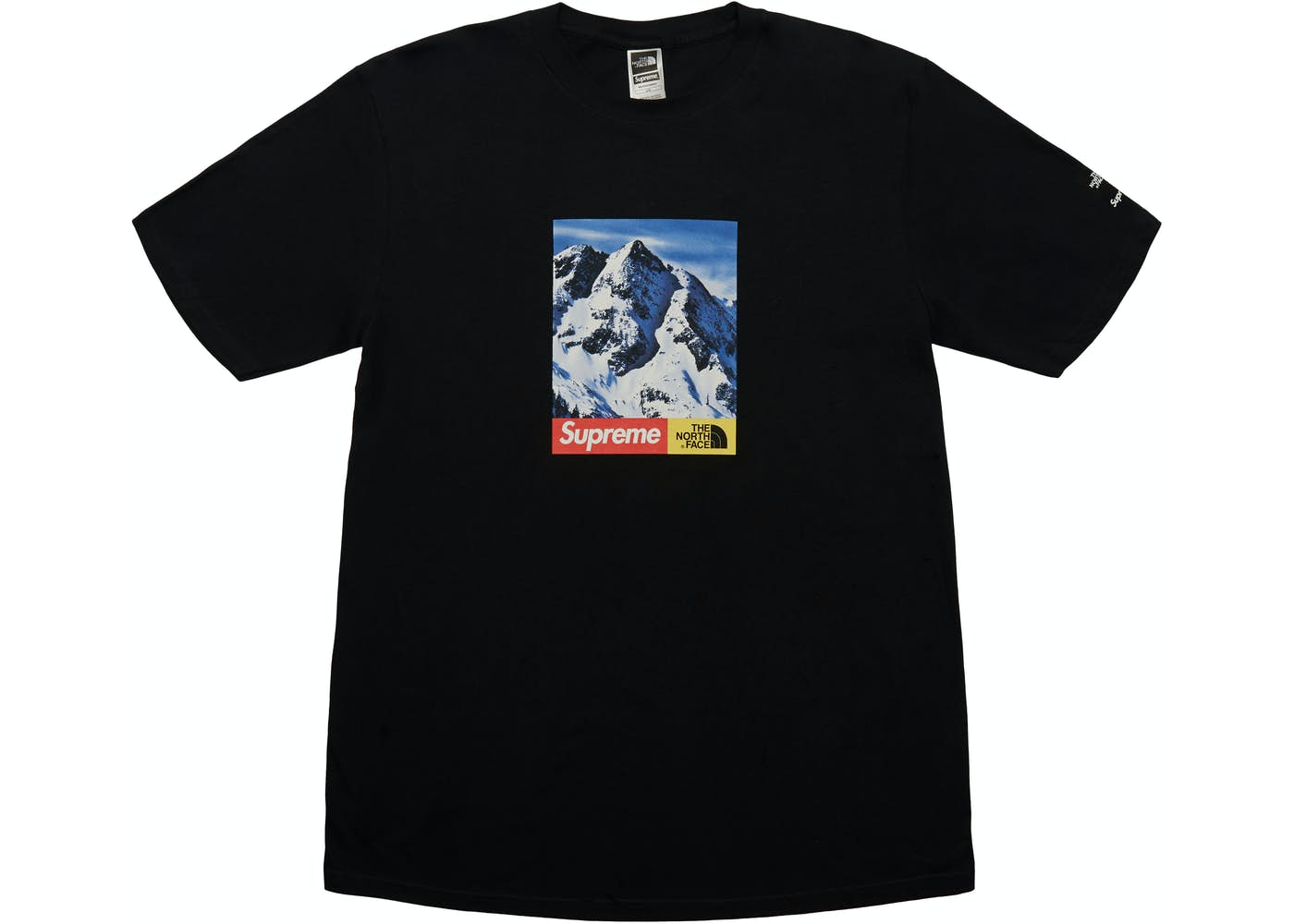 supreme the north face mountain tee black. Black Bedroom Furniture Sets. Home Design Ideas