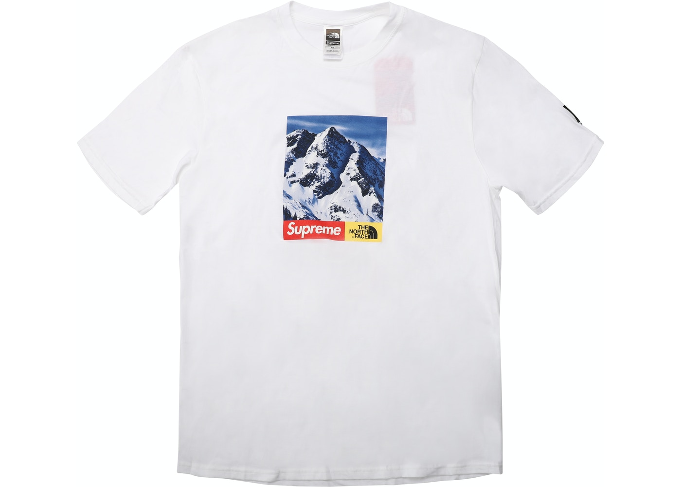 58938550b Supreme The North Face Mountain Tee White