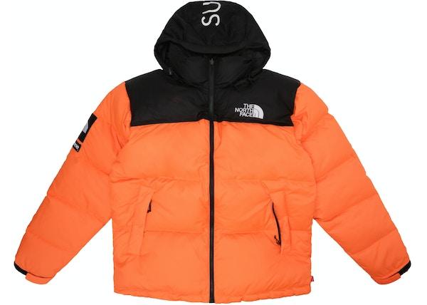 6bd950fc1 Supreme The North Face Nuptse Orange - FW16